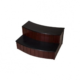 Marches arrondies pleines