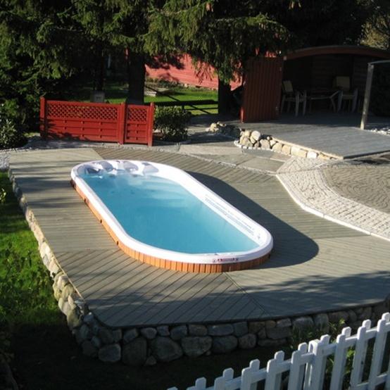 spa de nage aquafit pro. Black Bedroom Furniture Sets. Home Design Ideas