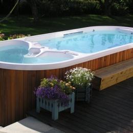 Spa de nage AquaFit Plus - Dimension One Spas
