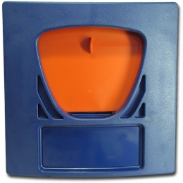 Plate and Weir Door Assy for AFS (orange)