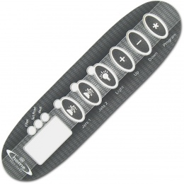 2 Jet inlay Charcoal  @home spas