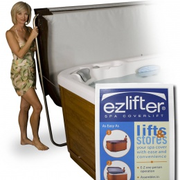 E-Z lifter spa cover