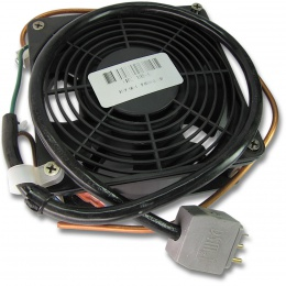 Compartment cooling fan with cord