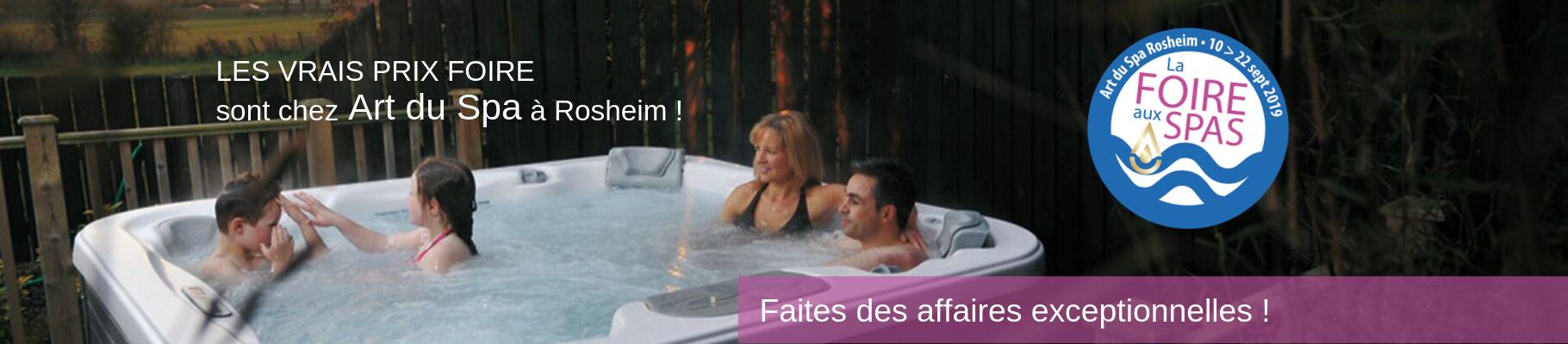 Invitation Foire aux spas